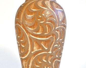 Earthy and Elegant Matte Finish Vase