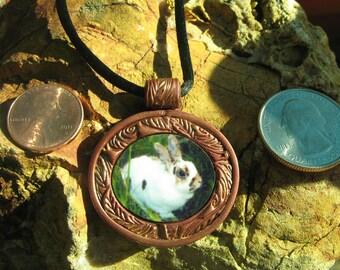 Custom-made personalized art pendant