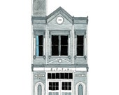Fire House, San Francisco - Postcard