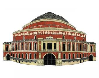 Royal Albert Hall, London - Postcard