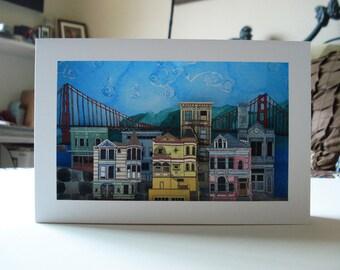 San Francisco Scene - Cut Out Model