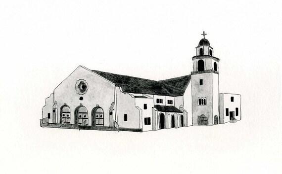 Immanuel Lutheran Church, Orange CA. - Postcard
