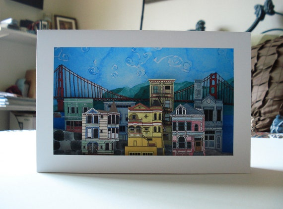 San Francisco Scene - Cut Out Model