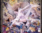 Fantasy Art Collection Book - Hardcover Featuring 16 Different Artists FREE PRINT