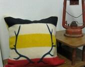 HBC blanket Antler Pillow -18x18