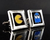 PacMan cuff links RESERVED FOR xoich