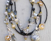 Be True - Handmade Lariat - Reserved for Judy