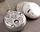 Share locket - collaboration with Polarity