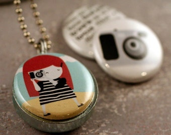 The photographer locket  -  collaboration with POLARITY