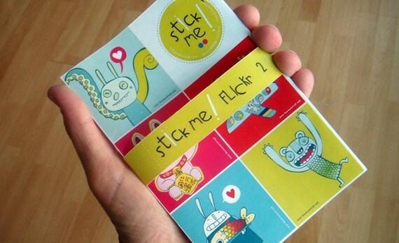 Stick me  FLICKr N2  -  collaborative sticker book