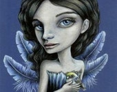 Bird of LUCK - print by Tanya Bond