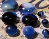 Handmade Small Glass Cabochons