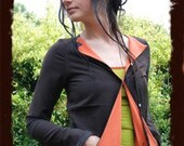 cute bamboo  red and grass green vest