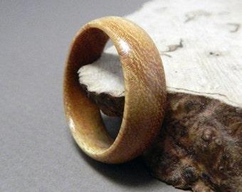 Wood Ring, Osage Orange Ring, Wooden Ring, Custom Made Ring, Mens Ring, Womens Ring, Wedding Ring, Eco Friendly Ring, Wooden Wedding Ring