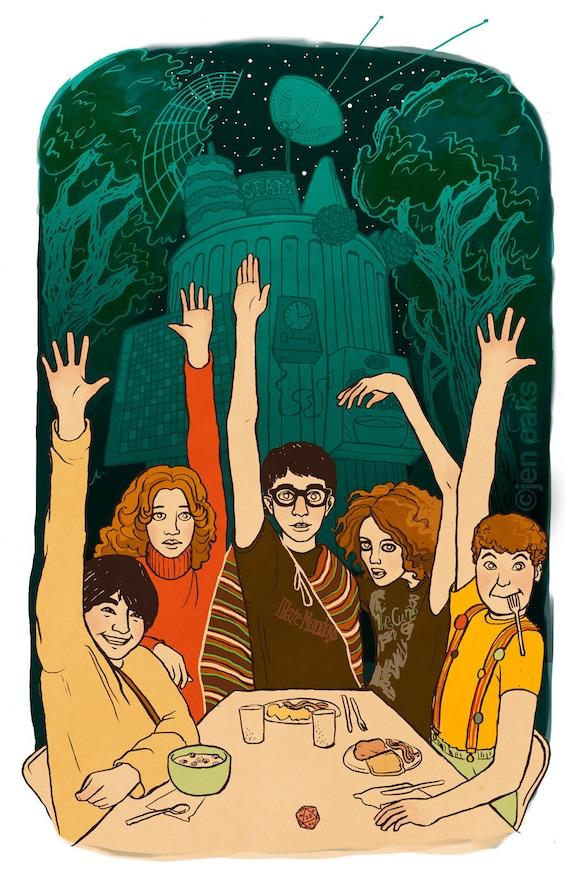 The Indoor Kids - 11x17 Archival Print