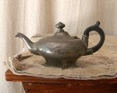 SALE Vintage Sheffield teapot