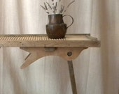 French vintage furniture wooden washboard