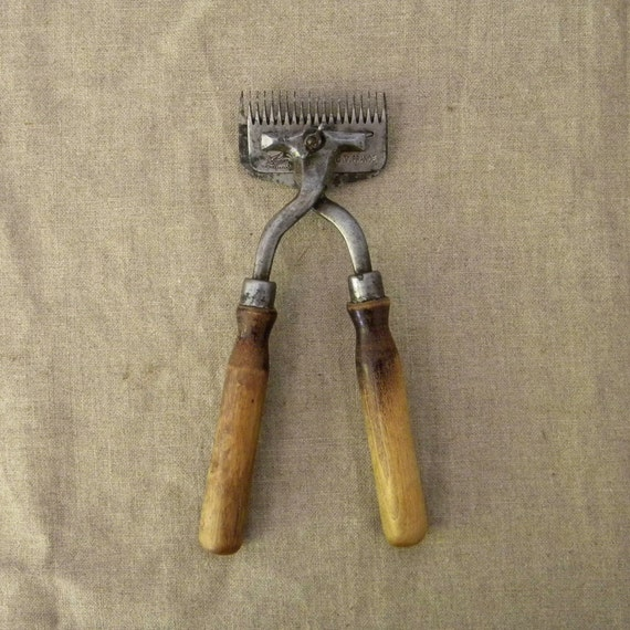Vintage French sheep shears