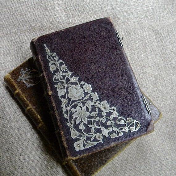 RESERVED Antique French missel or prayer book