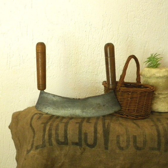 Vintage French country kitchen knife