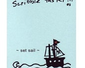 Scribble Faster 3 - Set Sail - zine