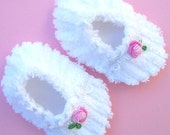 Chenille Baby Slippers Pick Your Size EtsyKids