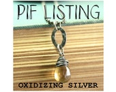 How to Oxidize Sterling Silver with Eggs - An Informational PIF - Free Information