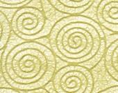 RESERVED FOR Dharma Adams - Japanese Uzumaki tissue - green tea, 2 letter-sized sheets