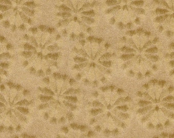 Kiku - gold, Japanese chrysanthemum, 5 letter-sized sheets