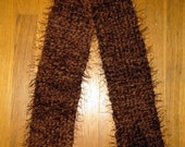 Thick Chocolate Brown Scarf