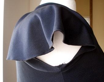 Vintage Cape - Little Black Dress - Eveningwear Cape