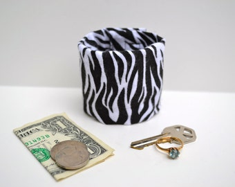 KIDS- Secret Stash Money Cuff- hide your cash, lunch money and house key in a hidden zipper.