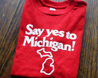 Say Yes to Michigan Kid's T-Shirt (Sizes: 4T & 6T)