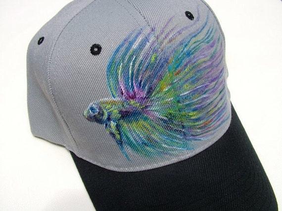 Hand Painted Baseball Hats