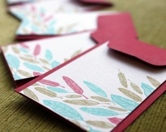 Feather Enclosure Cards