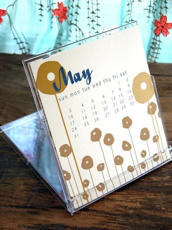 2009 Desktop Calendar