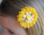 Sunshine Daisy Hair clip