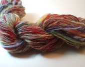AUTUMN LEAVES handspun hand-dyed wool yarn