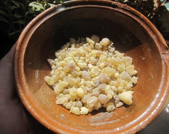 FRANKINCENSE Resin One Ounce Granular Loose Incense comes with one charcoal