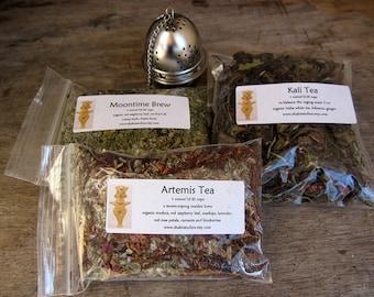 Kali Tea Herbal & White Tea Blend One Ounce