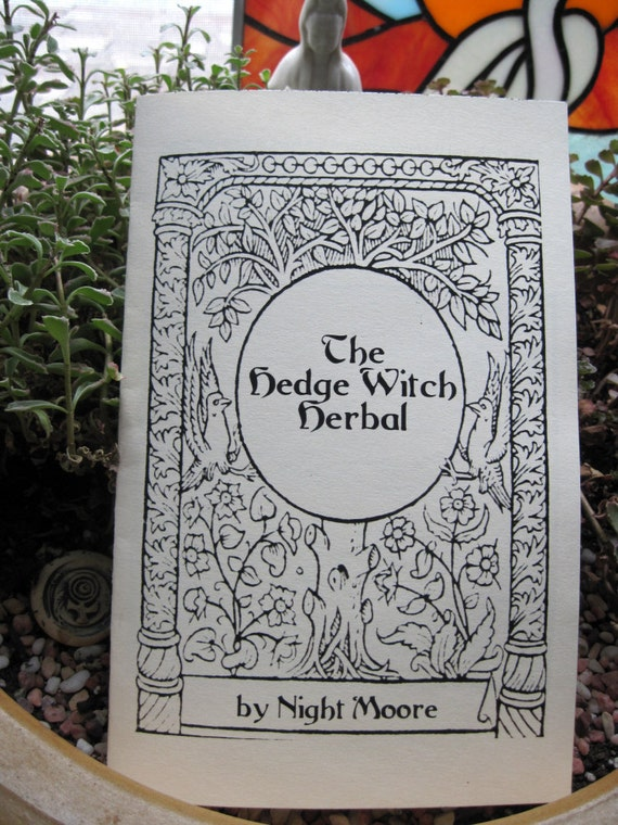 THE HEDGEWITCH HERBAL Booklet medicinal and magickal herb uses