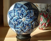 Blue and Silver Star Temari