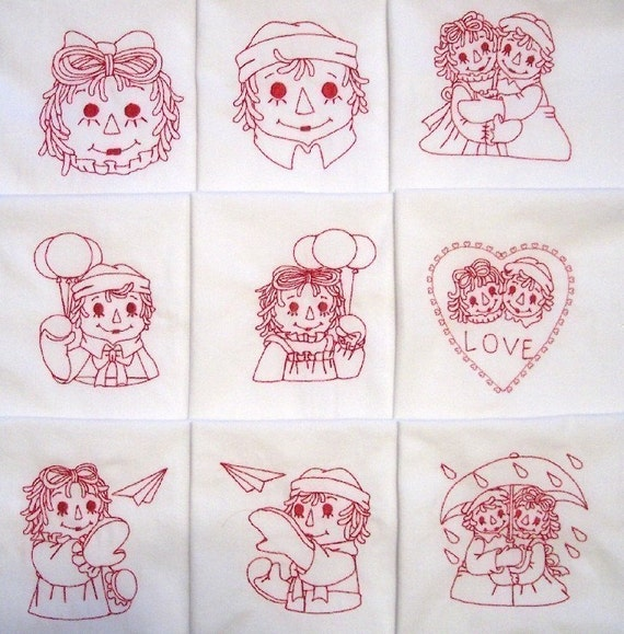 Grumpy men machine embroidery designs