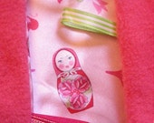 Tag Blankie - Russian dolls
