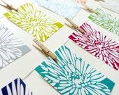 Set of 3 5x7s - White Dahlia - Modern Art Prints