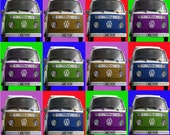 VW Camper    Vandy Warhol