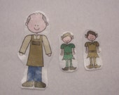 Elves and the Shoemaker Flannel Board Felt Story