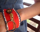 The American Friend Recycled Handmade Cuff