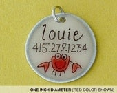 The Louie Pet Tag, Personalized