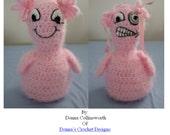 Crochet Pattern Good Little Curl/Bad Little Curl Doll in PDF